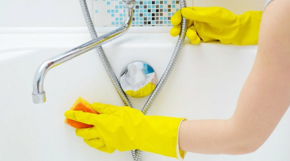 Čišćenje kade i kabine