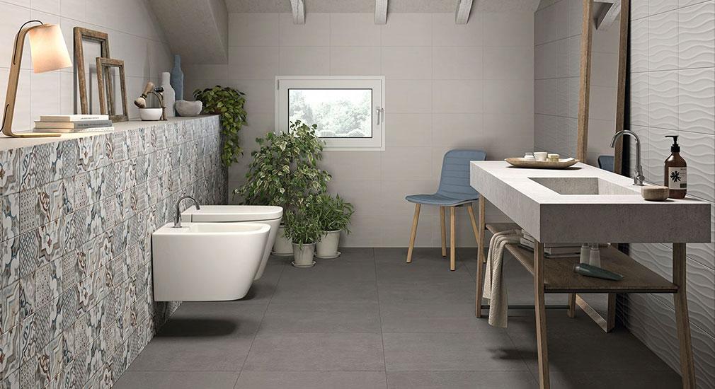 Marazzi italijanske granitne pločice za kupatilo imitacija kamena