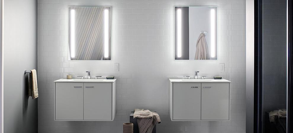 ogledalo sa sijalicama