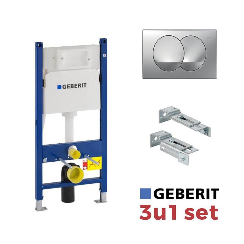 Geberit Duofix Basic + Delta 20 tipka set