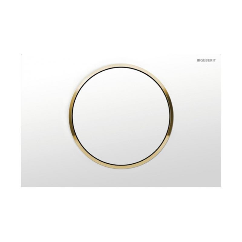 Tipka za aktiviranje Sigma 10 bela /pozlaćena /bela