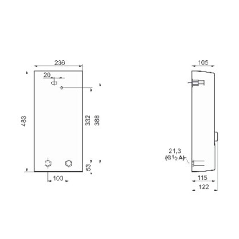 Bosch TR7000 21/24 DESOB protočni bojler