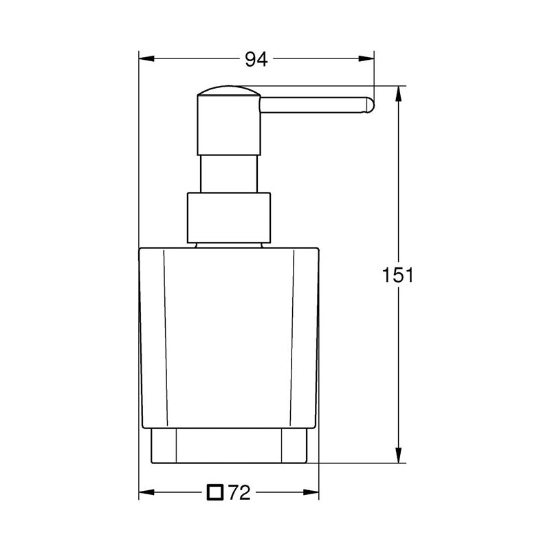 Selection Cube dozator za tečni sapun
