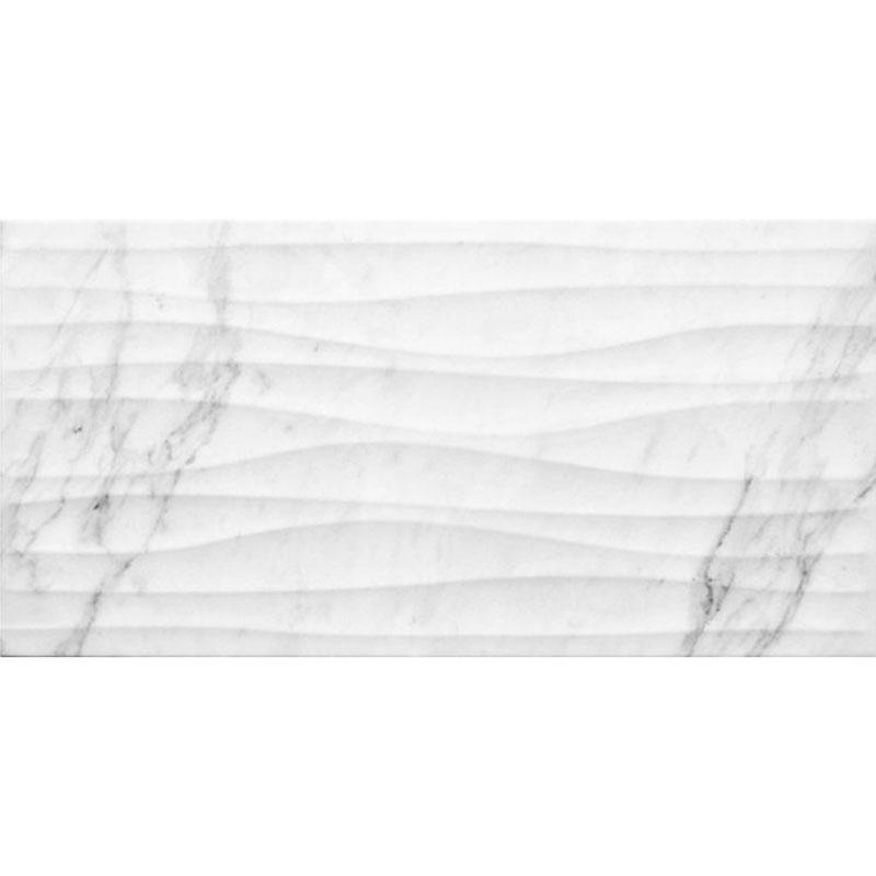 Carrara Onda 3D 25x50cm