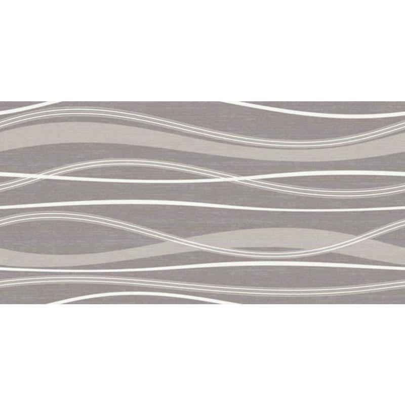 Waves Graphite 25x50cm