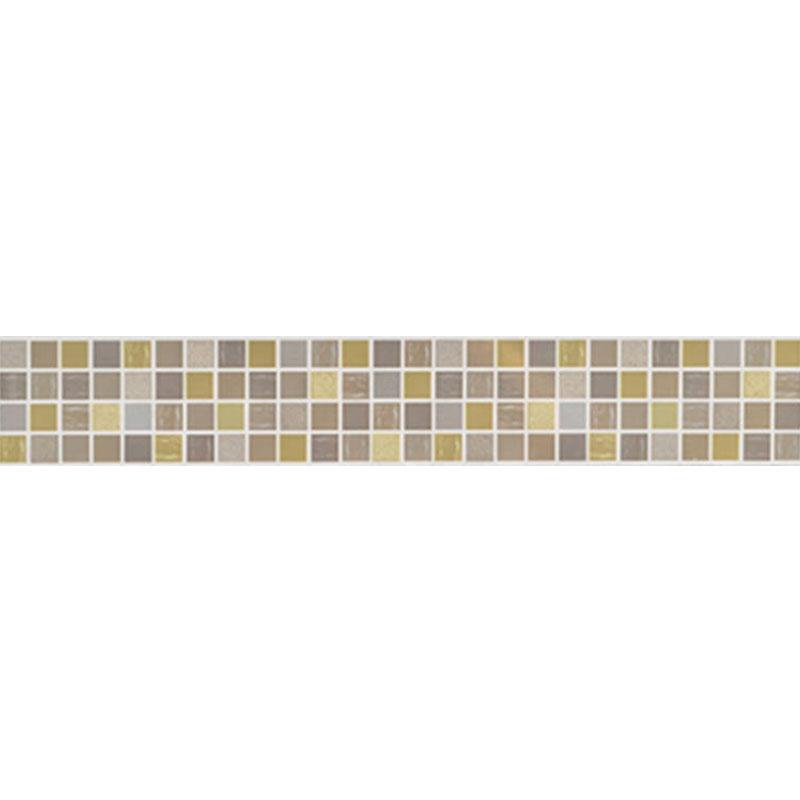 Mosaico Allegra Pistacio listela 7x50cm