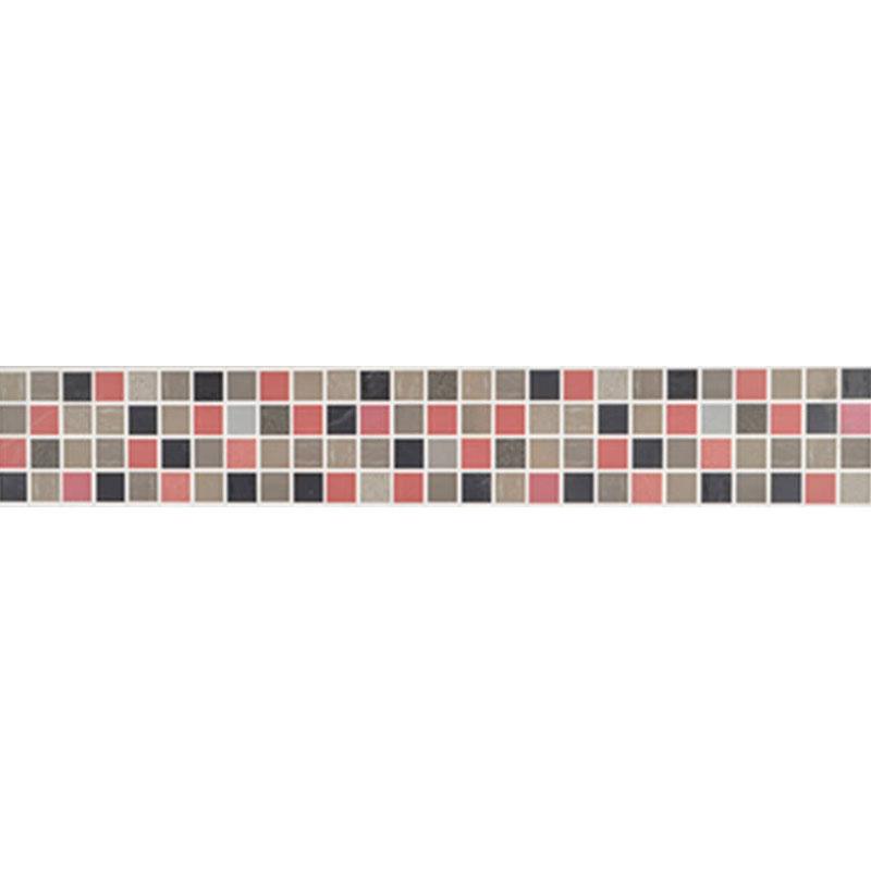 Mosaiko Allegra Lila listela 7x25cm