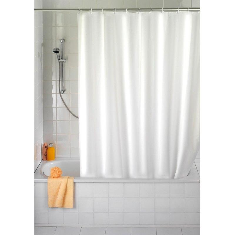 Kupatilska Zavesa Bela 180x220cm