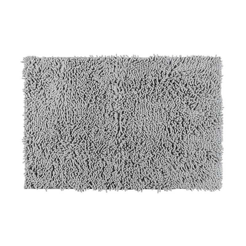 Chenille Prostirka Light Grey 50x80cm