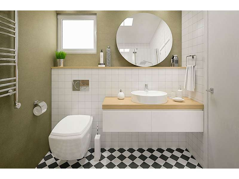 Ušteda prostora u malom kupatilu, saveti za uređenje!