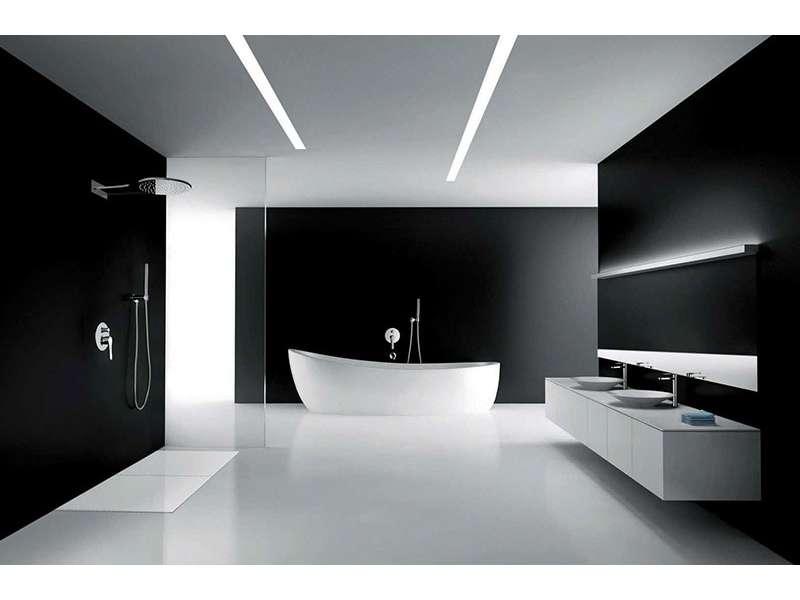 Crno bela kupatila, inspiracija i ideje za uređenje
