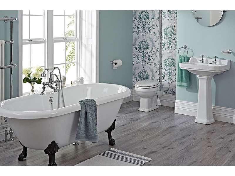 Retro slavine za kupatilo - nosilac stila u modernom uređenju