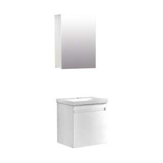 Durusu ormarić sa umivaonikom i ogledalom 50cm