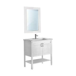Efes ormarić sa umivaonikom i ogledalom set 85cm