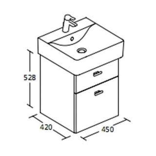Connect Cube ormarić 50cm