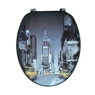 WC daska sa printom New York