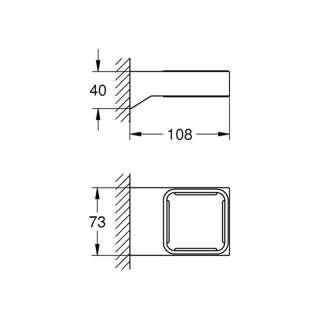 Selection Cube držač čaše i sapuna