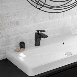 Kludi Balance crna baterija za lavabo