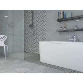 Elegant Mosaic 3D Grey 60x20cm