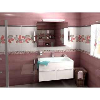 Mosaico Allegra Lila listela 50x7cm