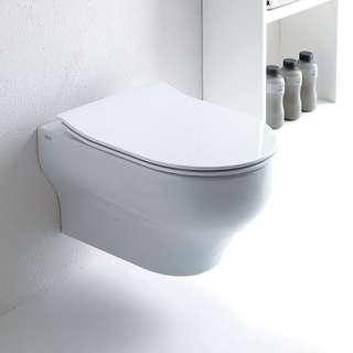 Clear slim WC daska