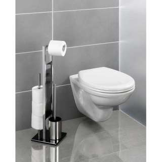 Rivalta Stojeći Držač WC Četke i Toalet Papira