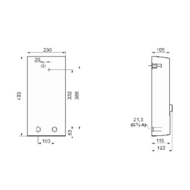 Bosch TR5000 24/27 EB protočni bojler