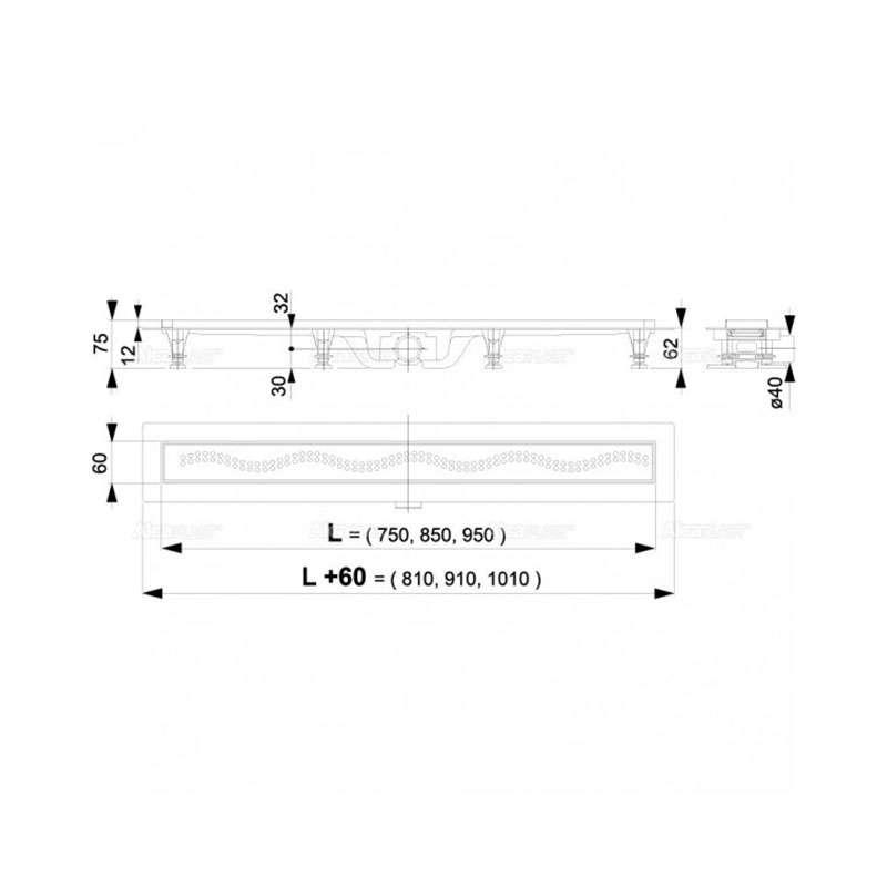Tuš kanalica APZ8-550