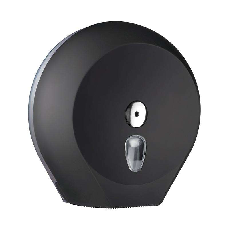 Držač za toalet papir rolne mini-jumbo crni