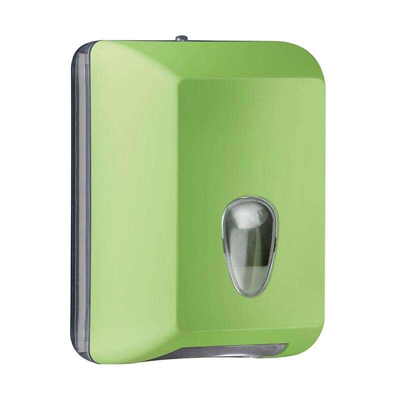 Držač za toalet papir u listićima zeleni