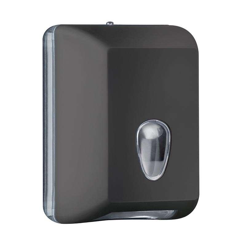 Držač za toalet papir u listićima crni