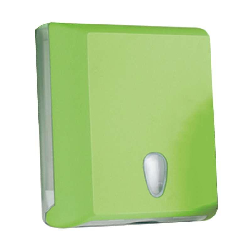 Dispenzer za složive ubruse mini zeleni