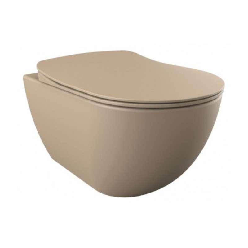 Free konzolna WC šolja Cappucinno Matt
