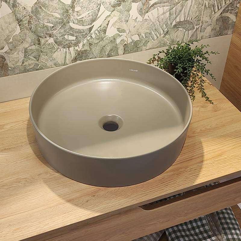 Loop nadgradni lavabo Cappucinno 45cm