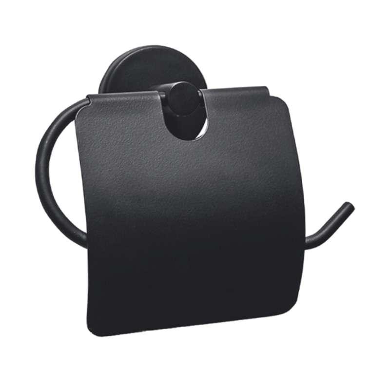 Drop crni mat držač toalet papira