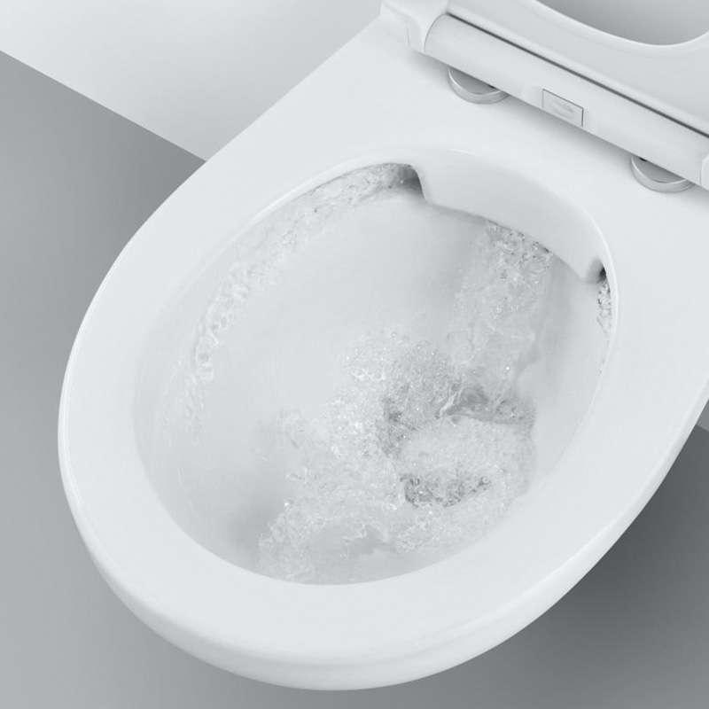 BauCeramic konzolna WC šolja rimfree