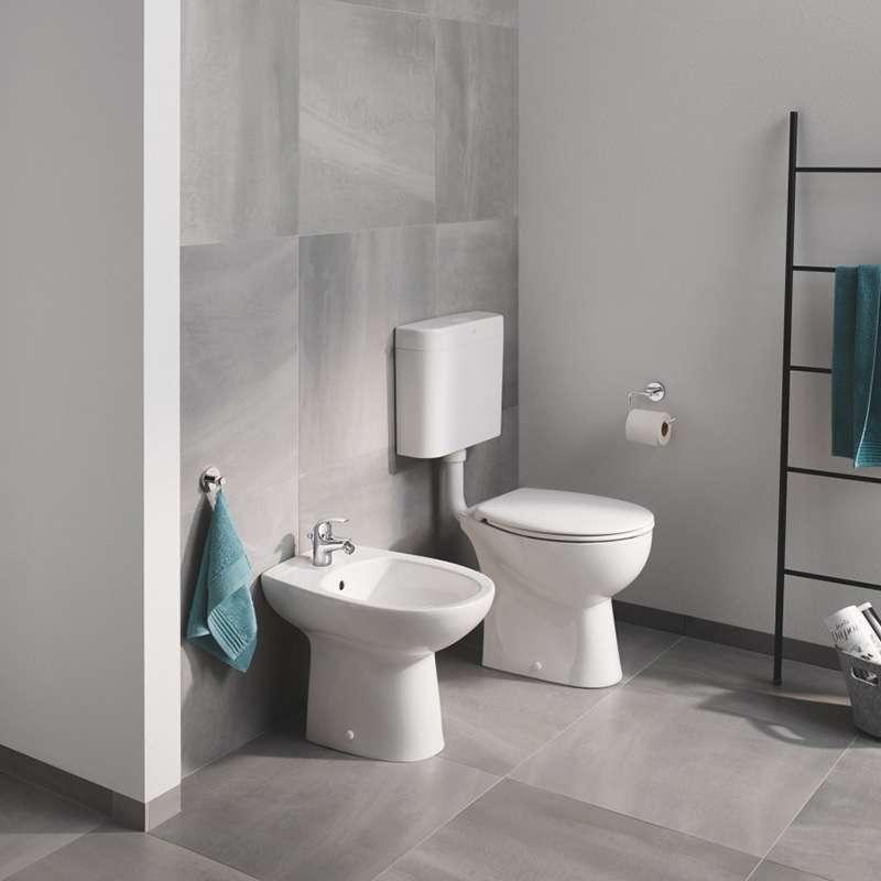 BauCeramic podna WC šolja rimfree