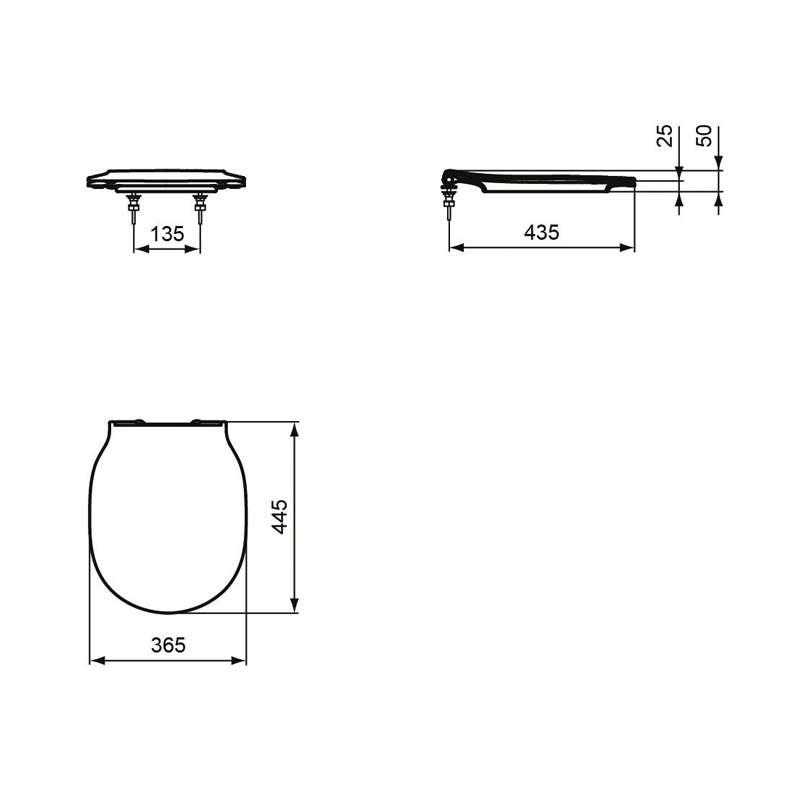 Connect Air WC daska slim