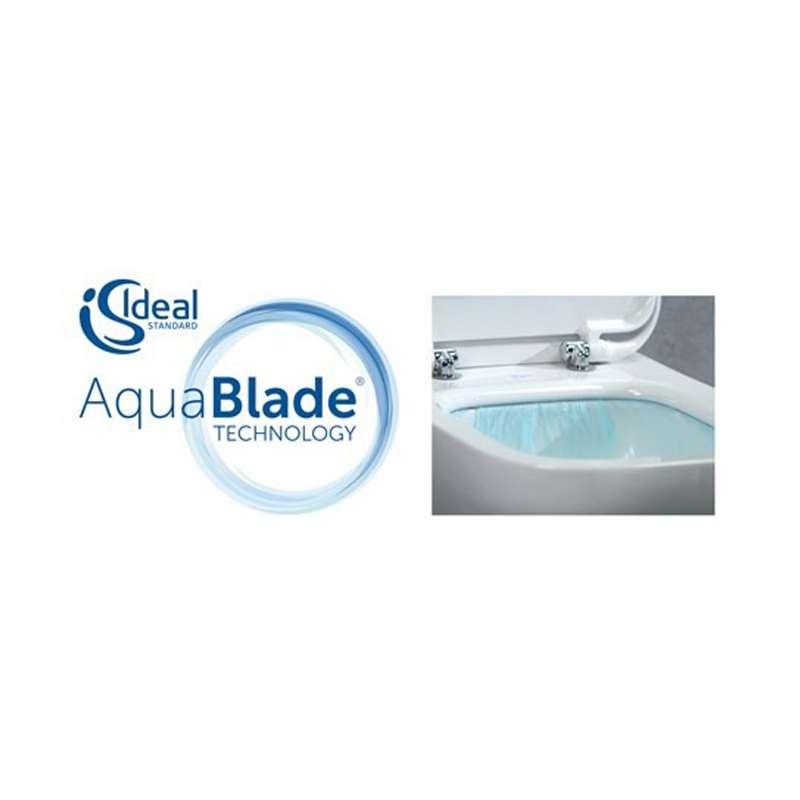 Tesi konzolna WC šolja Aquablade