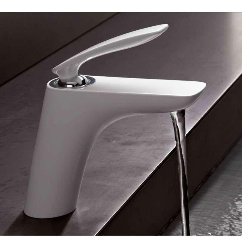 Balance baterija za lavabo bela