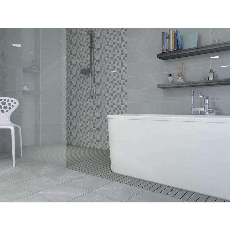 Elegant Light Grey 60x20cm