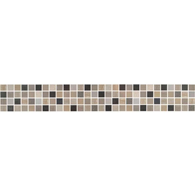 Mosaico Allegra Grigio listela 25x7cm