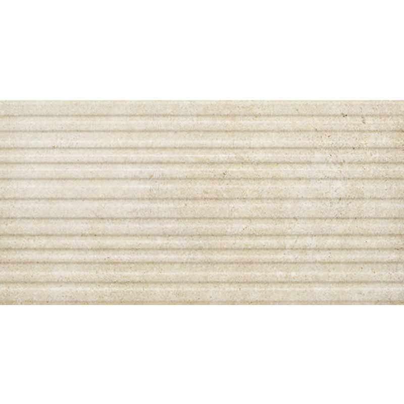 Limestone Line 3D Beige 50x25cm