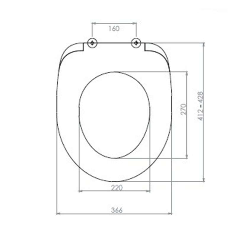 WC daska Akdeniz M