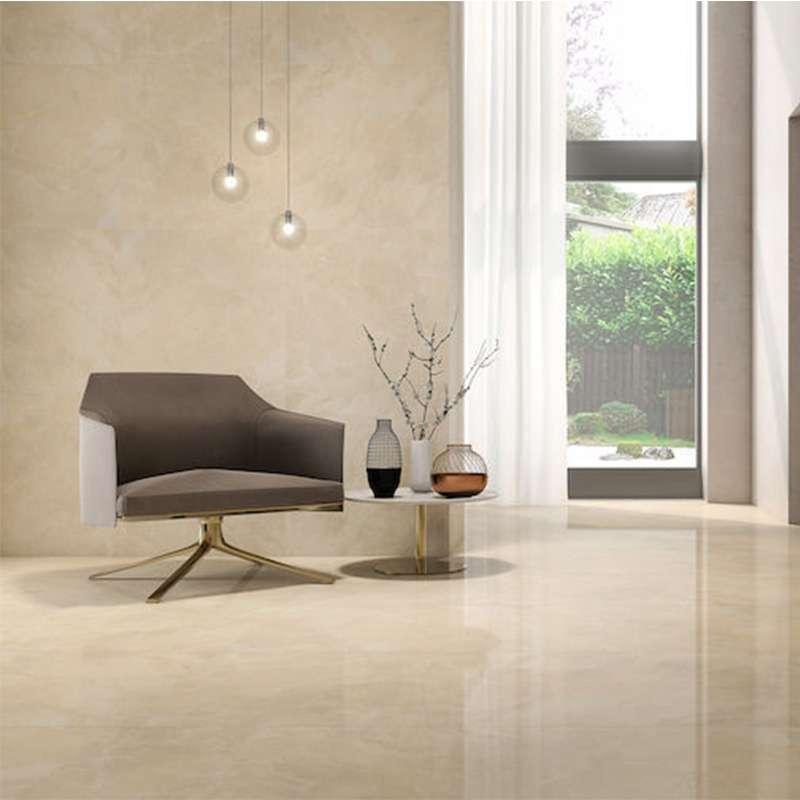 Marble Cream Beige Lapato 60x120cm