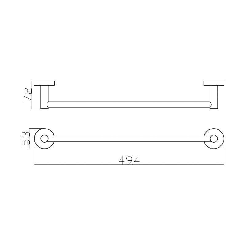 Držač peškira SE30111 45cm