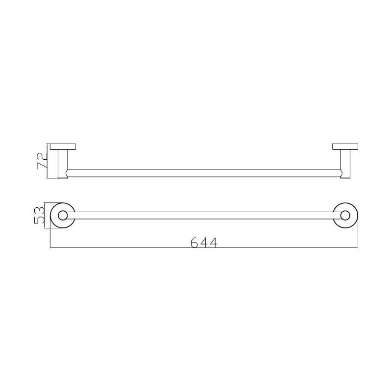 Držač peškira SE30111 60cm