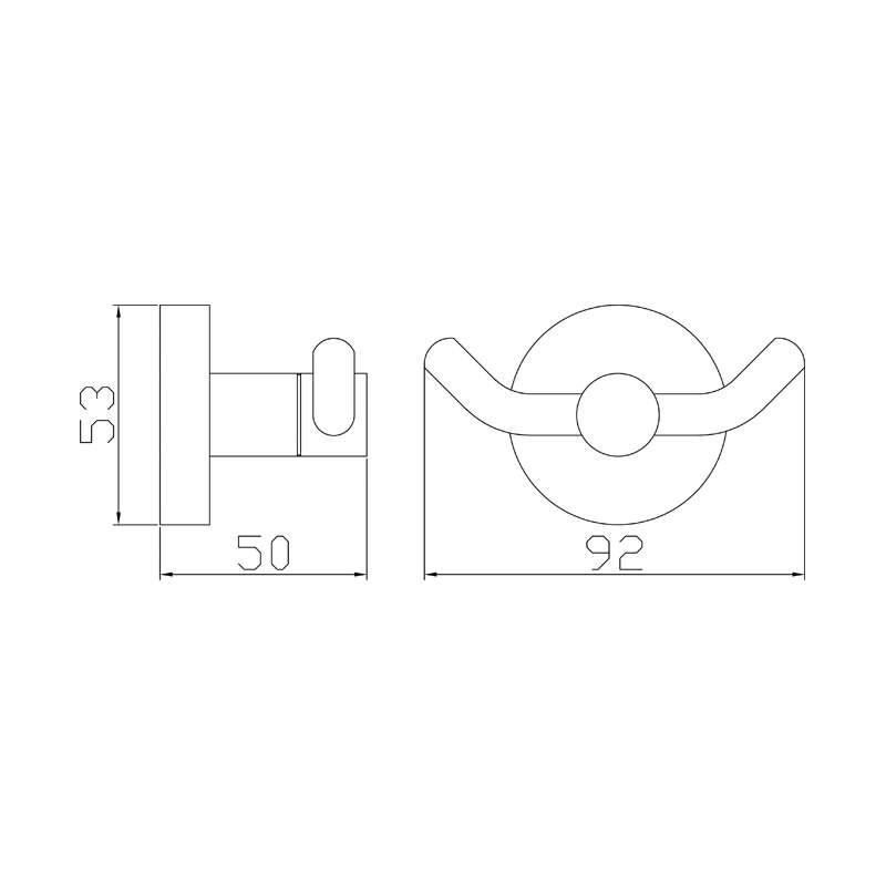 Dvostruka garderobna vešalica SE30122