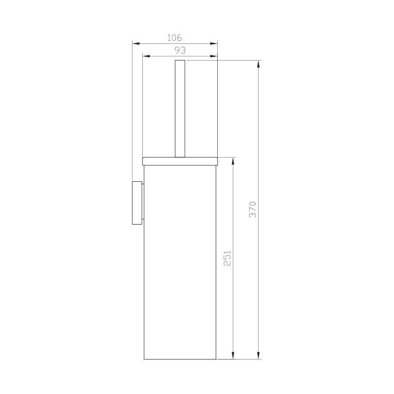 WC četka SE30181