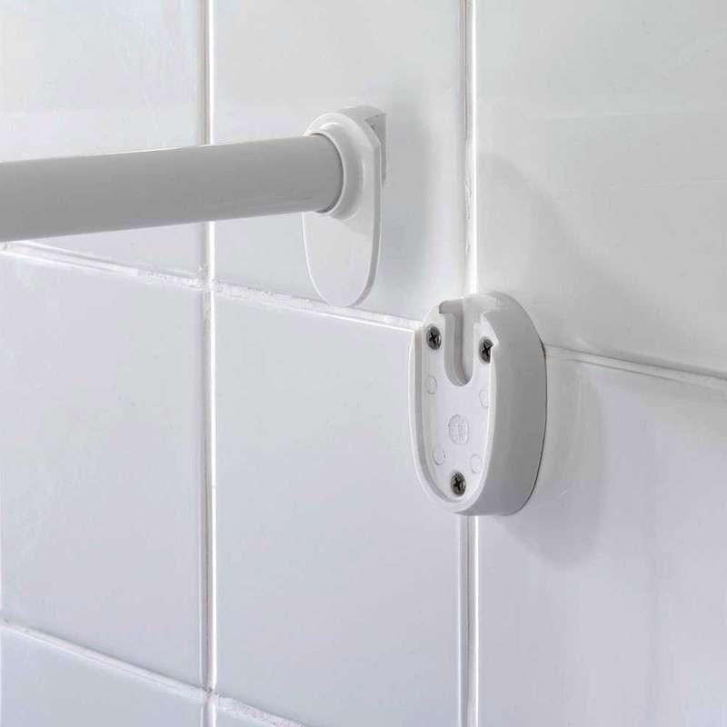 Šipka za zavesu polukružna chrome